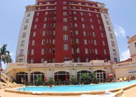 Hotel Presidente Havana pool