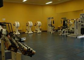 Hotel Occidental Miramar gym